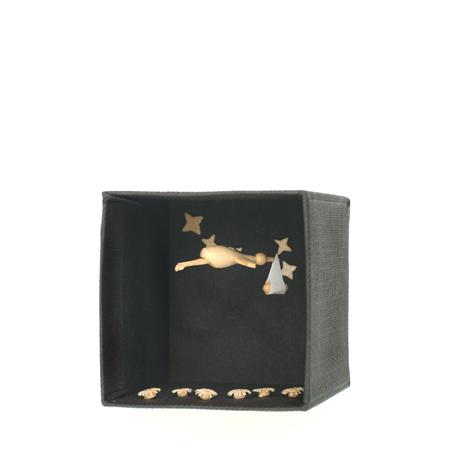 Storch, kleine Box